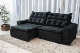 Sofá Retrátil e reclinável carioca