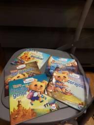 Box de livros infantis