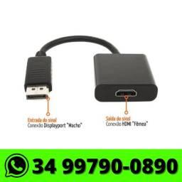 Adaptador Conversor DisplayPort Para HDMI