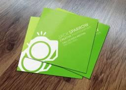 Mini cartões 4,8x4,3