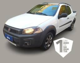 Fiat Strada Cabine Dupla 1.4 Hard Working CD 8V Flex 3P Manual Ano 2016-2016