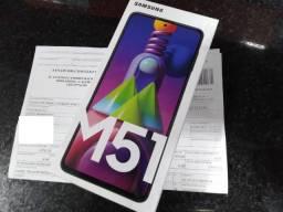Samsung Galaxy M51 Lacrado/Desbloqueado 128GB - Preto - Novo/Nota Fiscal em meu nome
