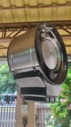 Climatizador Ventilador Oscilante Inox  C/ Névoa