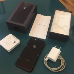 Iphone 8, 256gb, Bateria 100%, Envio Imediato!