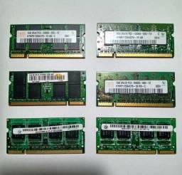 MEMÓRIA 1GB 667 E 800 (Hynix e positivo)