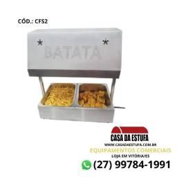 Conservador de Fritura e Alimentos 2 Cubas Inox