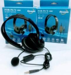 Título do anúncio: Headset Fone de Ouvido com Microfone para Xbox para Ps4 H12