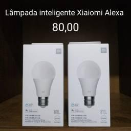 Título do anúncio: Lâmpada Inteligente Alexa Colorida e branco - Novo
