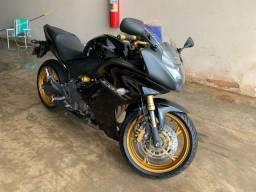 Honda CBR 600F Preta 2012