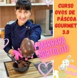 Curso ovos de pascoa gourmet