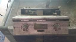 Rádio carro antigo 1950