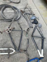 Bicicleta quadros montar