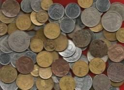 Compramos quilo de moedas antigas