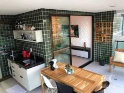 Apartamento com 4 dormitórios à venda, 114 m² por R$ 780.000 - Guaxuma - Maceió/AL
