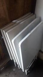 5 mesas de ferro