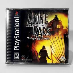 Jogo Tony Hawk 2 e Alone in the Dark Originais PS1