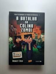 Título do anúncio: Kit 2 livros infantis - Minecraft