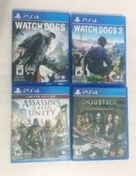 4 Jogos PS4 e ganha 4 PS3 de brinde