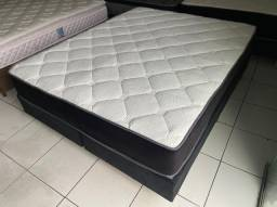 Latex - cama box queen size - entrego