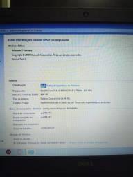 Notbook Dell, i3 4000 (leia a descrição)