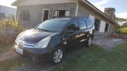 Nissan Grand Livina 1.8 S 2011, 7 lugares