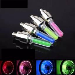 Par de bico de LED para Bicicleta e Motocicleta RGB