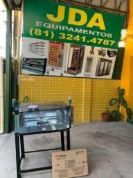 Título do anúncio: Forno roma venâncio elétrico em inox - pizzarias , padarias com pedras refratárias