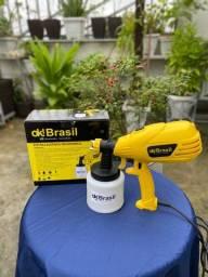 Pistola de pintura compressor de ar direto portátil
