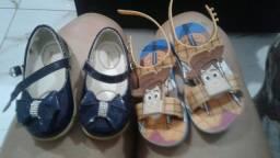 Sapatinho  e sandália
