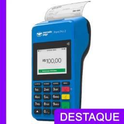 Maquineta Mercado Pago Imprime os comprovantes!