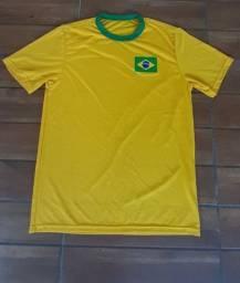 Camisa Brasil P M G.