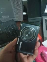 Camera Samsung e câmera nikon