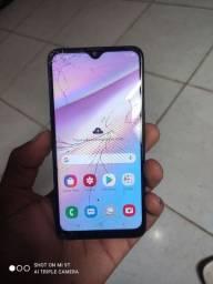 Samsung a10s trincado vendo não troco