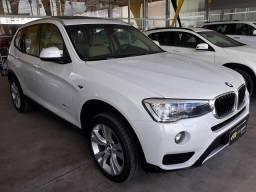 BMW X3 2.0 20I 4X4 16V GASOLINA 4P AUTOMÁTICO - 2015