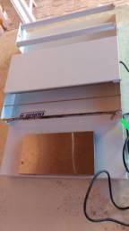 Embaladora Inox de Plástico Filme