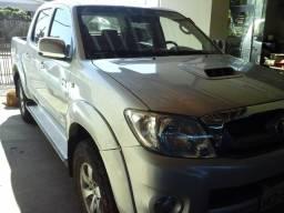 Toyota Hilux 3.0 srv diesel 4x4 manual cabine dupla completa whatsapp 999534192 - 2008