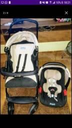 Carrinho de passeio + Bebê conforto Burigotto