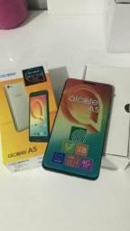 Alcatel A5 MAX 3RAM 32GB (tela trincada)