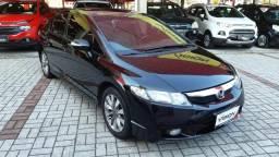 RP Honda Civic 2011 lindo com banco de couro carro de fino trato - 2011