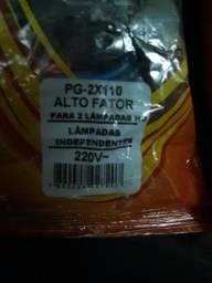 Reator para lâmpadas h0 2x110w, barbada