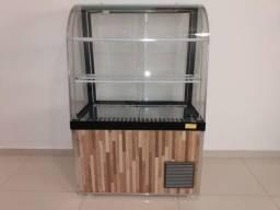 Balcão vitrine expositor refrigerado ômega 120x80x45 - 220v