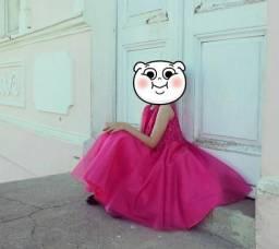 Vestido princesa luxo festa