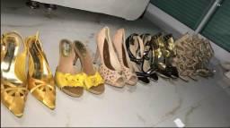 Vendo lote de sapatos usados