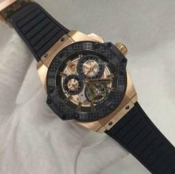 feb0a508cf1 Promoção Relógio Hublot Geneve Big Bang Tourbillon Automático