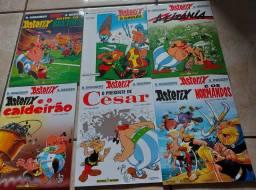 Coleção de revistas do Asterix