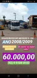 Título do anúncio: Micro-ônibus busscar top de linha