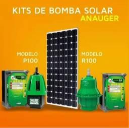 Bomba de água com energia solar fotovoltaica