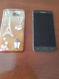 01 celular Samsung galaxu  j 7