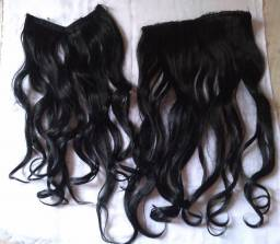 R$ 300 Aplique de cabelo orgânico usado apenas por uma semana. * Adriana.