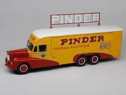 Miniatura caminhão Bernard Pinder Circus 1:43 raríssimo